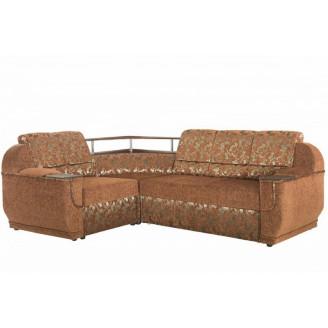 Угловой раскладной диван Меркурий без столика Бостон Дельфин Мебель-Сервис