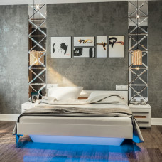 Кровать Бьянко 160*200 Мир Мебели