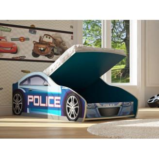Кровать-машинка Бренд-5 Полиция New с механизмом Viorina-deko