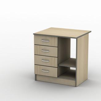 Тумба ТП-3 70*50 Бюджет Плюс ТИСА-мебель