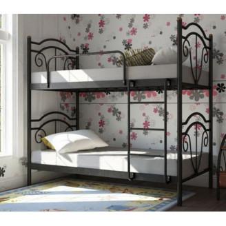 Металлическая двухъярусная кровать Диана Металл-дизайн