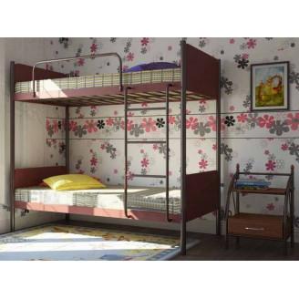 Металлическая двухъярусная кровать Арлекино Металл-дизайн