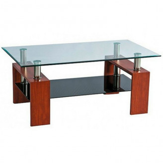 Журнальный столик Престиж мини двухполочный 100*55 Sentenzo