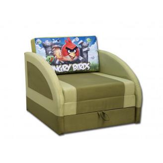 Детский раскладной диван Магик мультик 80 Выкатной Вика