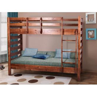 Кровать двухъярусная Троя Сосна 80*200 Микс Мебель