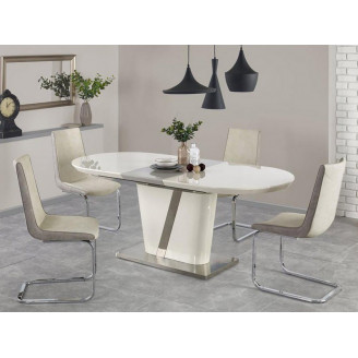 Стол раскладной Iberis крем + серый Halmar