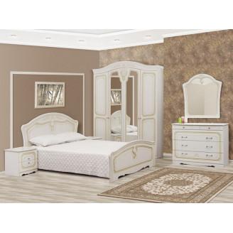 Спальня Луиза патина Мир Мебели