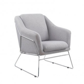 Кресло Soft серое Halmar