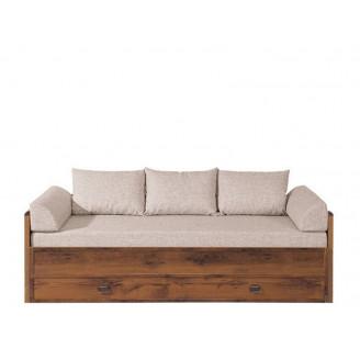 Диван-кровать Indiana JLOZ 80/160 с матрасом подлокотниками и подушками BRW Польша