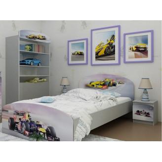 Кровать Формула 1 без ящиков 90*190 Вальтер