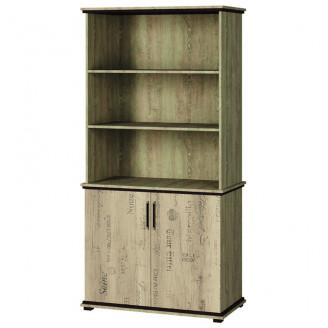 Шкаф книжный Палермо Мир Мебели