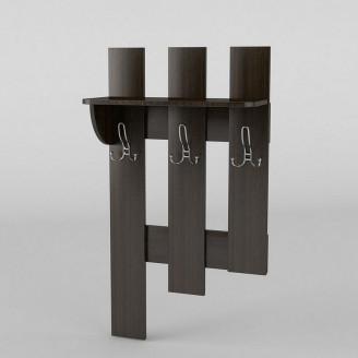 Вешалка настенная 2 АКМ ТИСА-мебель