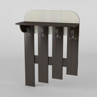 Вешалка настенная 3 АКМ ТИСА-мебель