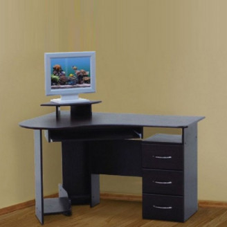 Компьютерный стол Универсал 1,25 МДФ Просто Мебли