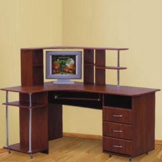 Компьютерный стол Атлас плюс МДФ Просто Мебли