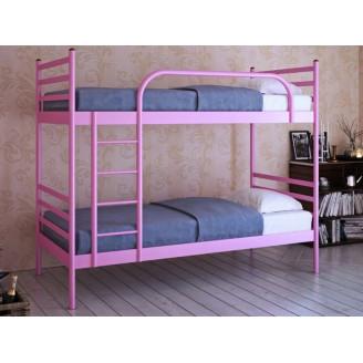 Двухъярусная металлическая кровать Флай Дуо Метакам
