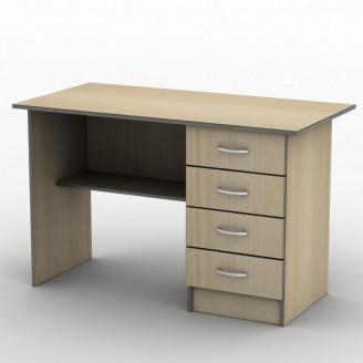 Стол письменный СП-3 140*60 Бюджет ТИСА-мебель