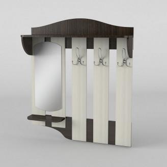 Вешалка настенная 4 АКМ ТИСА-мебель