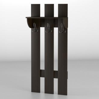 Вешалка настенная 5 АКМ ТИСА-мебель