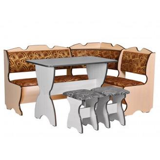 Кухонный уголок Комфорт Пехотин без стола и табуретов