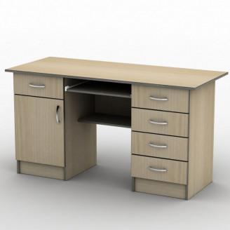 Стол письменный СП-24 140*70 Бюджет ТИСА-мебель
