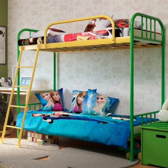 Металлическая кровать Бамбо Дуо 60*140 Метакам