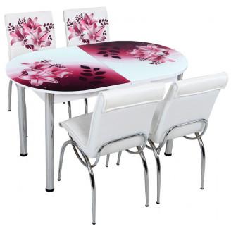 Кухонный комплект Лотос-М SK OVAL 012 130*75
