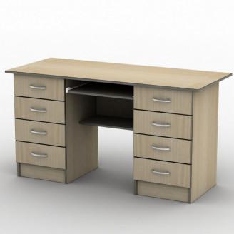 Стол письменный СП-28 140*70 Бюджет ТИСА-мебель