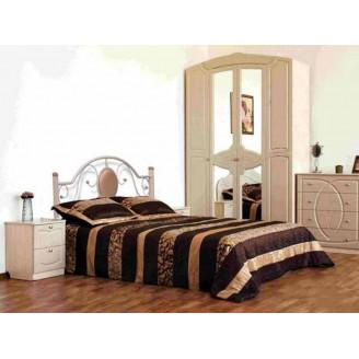 Металлическая кровать Лаура Металл-дизайн
