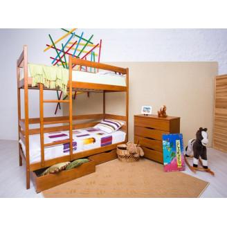 Кровать двухъярусная Амели с ящиками Олимп