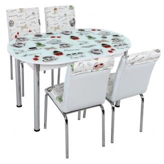 Кухонный комплект Лотос-М SK OVAL 008 130*75