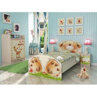 Детская комната Мишка с букетом Вальтер
