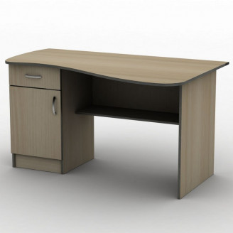 Стол письменный СПУ-8 140*75 Бюджет ТИСА-мебель