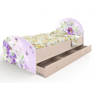 Кровать Природа  +  ящик 90*190 Вальтер