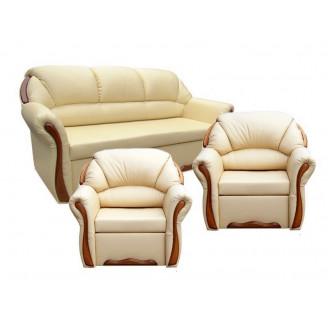Комплект Бостон Люкс 311 с раскладными креслами Вика