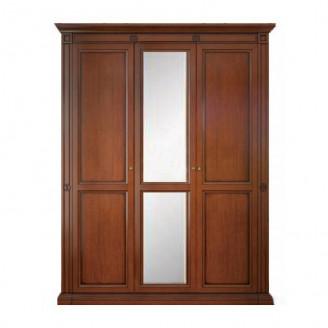 Шкаф трехдверный с зеркалом Набукко Скай