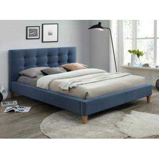Кровать Texas 160*200 синий Signal
