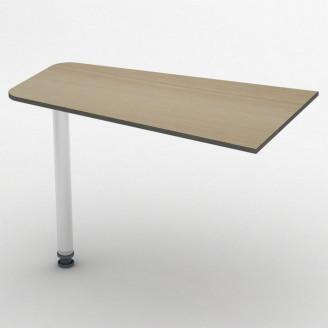 Приставной стол СПР-1 100*60 Бюджет ТИСА-мебель