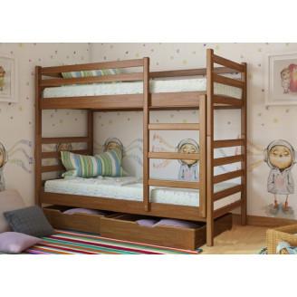 Кровать двухъярусная трансформер Рио с 2 ящиками Арбор Древ