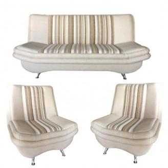 Комплект Твикс диван раскладной и 2 кресла МКС